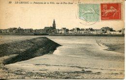 CPA -  LE CROISIC - PANORAMA DE LA VILLE, VUE DE PEN-BRON - Le Croisic