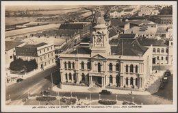 Aerial View, Port Elizabeth, Cape Province, C.1940s - Hallis & Co RP Postcard - South Africa