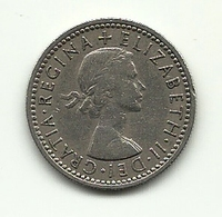 1955 - Gran Bretagna 6 Pence - Altri