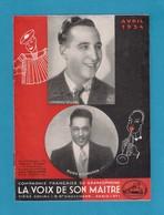 """Musique. Catalogue Illustré Des Disques GRAMOPHONE  """"La Voix De Son Maître"""" 1934. - Music & Instruments"""
