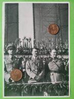 GERMANIA  ALLEMAGNE  GERMANY  Parata Con Gerarchi NAZISMO PROPAGANDA - Oorlog 1939-45