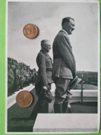 GERMANIA  ALLEMAGNE  GERMANY  Parata Con Gerarchi 2 NAZISMO PROPAGANDA - Guerra 1939-45