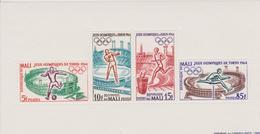 MALI BLOC-FEUILLET JEUX OLYMPIQUES  DE TOKYO 1964 - Summer 1964: Tokyo