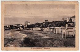 S. MARINELLA LAZIO SPIAGGIA - CARTOLINA SPEDITA NEL 1923 - Italy