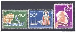 Polynésie  -  Avion  -  1968  :  Yv  22-24  * - Unused Stamps