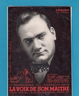"""Musique. Catalogue Illustré Des Disques GRAMOPHONE  """"La Voix De Son Maître"""" 1933. - Music & Instruments"""