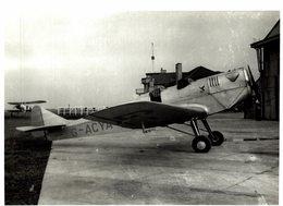 MILES Hawk At Heston    21 * 16 CM Aviation, AIRPLAIN, AVION AIRCRAFT - Aviación