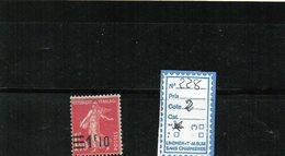 FRANCE LUXE ** N° 228 - 1906-38 Semeuse Con Cameo