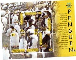 GRENADINES CARRIACOU 2007 / Superbe Bloc De 6 Valeurs Se Tenant MNH Cote + De 15.00 Vente Départ 2.99 Euros - Philatélie Polaire