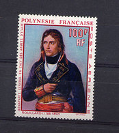 Polynésie  -  1969  -  Avion  :  Yv  31  **   Napoléon - Unused Stamps