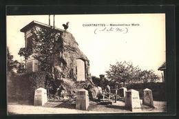 CPA Chartrettes, Monument Aux Moris - France