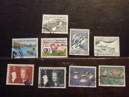 GROENLANDIA 1957-86 USATO - Groenlandia