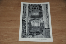 7054-  EDWARD IV's TOMB AND HENRY VIII's ORIEL,  ST. GEORGE'S CHAPEL, WINDSOR - Religions & Beliefs
