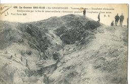 La Guerre 1914-15-16 - Tahure (51 - Marne) - Tranchées Allemandes Bouleversées Par Notre Artillerie. Entonnoir… - France