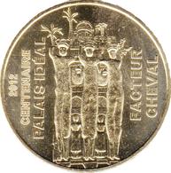26 DRÔME HAUTERIVES FACTEUR CHEVAL N°3 100 ANS MÉDAILLE MONNAIE DE PARIS 2012 JETON TOKEN MEDALS COINS - Monnaie De Paris