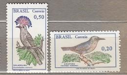 BRAZIL 1968 Birds MNH (**) MI 1178-1179  #23606 - Birds