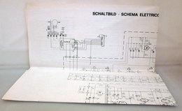 SCHEMA ELETTRICO CIRCUITO STAMPATO  BS 212.0 ZANUSSI VINTAGE ORIGINALE - Televisione