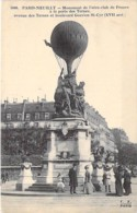 75 - PARIS NEUILLY 16 ème : Monument De L'Aéro Club De France à La Porte Des Ternes - CPA - Seine - France