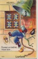 """56 LORIENT   Carte Système Gaby : """"Ouvrez La Fenêtre Pour Voir..."""" - Lorient"""