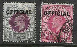 South Africa, Natal EVIIR, 1d, 3d Opt OFFICIAL, Used - Afrique Du Sud (...-1961)