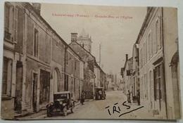 CPA-B056 - CHARENTENAY (Yonne) - GRANDE RUE ET L'EGLISE - France