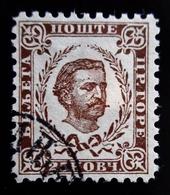 1890 Montenegro Mi 7III. Prince Nicholas I .Oblitéré - Montenegro