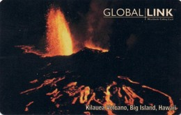 *U.S.A.: GLOBAL LINK* - Scheda Usata - Volcanes