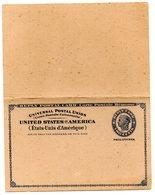 Entero Postal De Estados Unidos  Ocupacion Filipinas. - Philippines