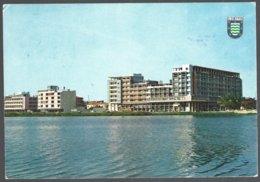 CP 354-LOBITO-Vista Da Cidade-vue De La Ville-view Of The Town. Circulé,timbre Déchiré - Angola
