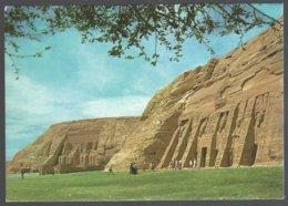 CP - Egypt-ABU-SIMBEL : General View Of The Temple Abu-Simbel - Antichità
