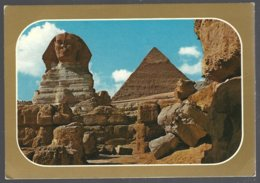 CP GIZA , The Sphynx And Kefra Pyramid - Sphinx
