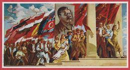 """"""" Luttons Pour La Paix"""". Par J. Perahim Vers 1950. Roumanie. Encyclopédie De 1970. - Oude Documenten"""