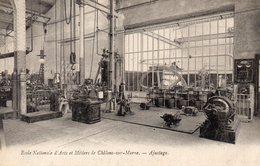 Chalon Sur Marne  école D'arts Et Métiers L'ajustage - Châlons-sur-Marne