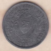 Yvelines – 78. Groupes Commerciaux De Versailles  25 Centimes 1918 - Monétaires / De Nécessité