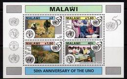 Malawi 1995 50th Anniversary Of UN MS, MNH, SG 948 (BA2) - Malawi (1964-...)