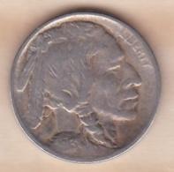 ETATS-UNIS. FIVE CENTS 1913 . 1er TYPE  . BUFFALO - Federal Issues