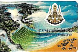 TC-PUCE-THAILANDE-Gem1-250BAHT-THAI BARRAGE RETENUE D EAUX-TBE - Thaïlande
