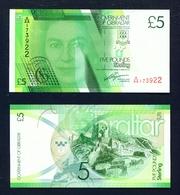 GIBRALTAR - 2011 £5 UNC Banknote - Gibraltar