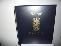 ALBUM DAVO  + FEUILLES DAVO LUXE BELGIQUE 1970/84 (vol. III) - Reliures Et Feuilles