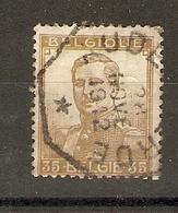 Belgique 1912 - Oblitération Télégraphe à étoile Audenaerde - Albert Ier 35 C - Cob 113 - Marcophilie