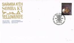 31078. Carta F.D.C. YELLOWKNIFE (Canada) 1984. Park SOMBA K'E - Sobre Primer Día (FDC)