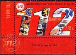 "Moldova 2019 ""National Service For Emergency Calls - 112"" 1v  Quality:100% - Moldova"