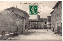 """SAINTE CROIX EN JAREZ  """"Entrée Du Village"""" - Otros Municipios"""