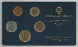 Yugoslavia 1984. Official Coin Set Mint Set - Yugoslavia