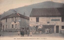 NANS-sous-SAINTE-ANNE - Les Hôtels - Attelage De Cheval - Courrier De Nans à Salins - Restaurant Riffaud - Other Municipalities