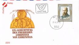 31082. Carta F.D.C. WIEN (Austria) 1994. Chistian  Von Ehrenfels, Filosofo, Psicologo - FDC