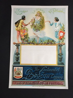 1893 RARE Affiche THE CONTINENTAL BODEGA COMPANY Vins Vin D'espagne Et Du Portugal Litho Donnez à Bruxelles - Affiches