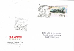 31084. Carta Exposicion TARRAGONA 2001. Filamoder Tarraco. ATM, Syv - 1931-Hoy: 2ª República - ... Juan Carlos I