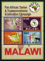 Malawi 2012 Pan-African Tsetse Project MS, MNH, SG 1079 (BA2) - Malawi (1964-...)