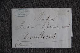 Lettre Commerciale D'AMIENS : L.SOREL, Fabricant De Velours En Tous Genre -1889 - 1800 – 1899